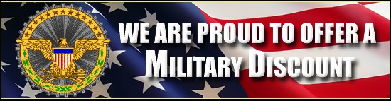 Proud To Offer Military Discount